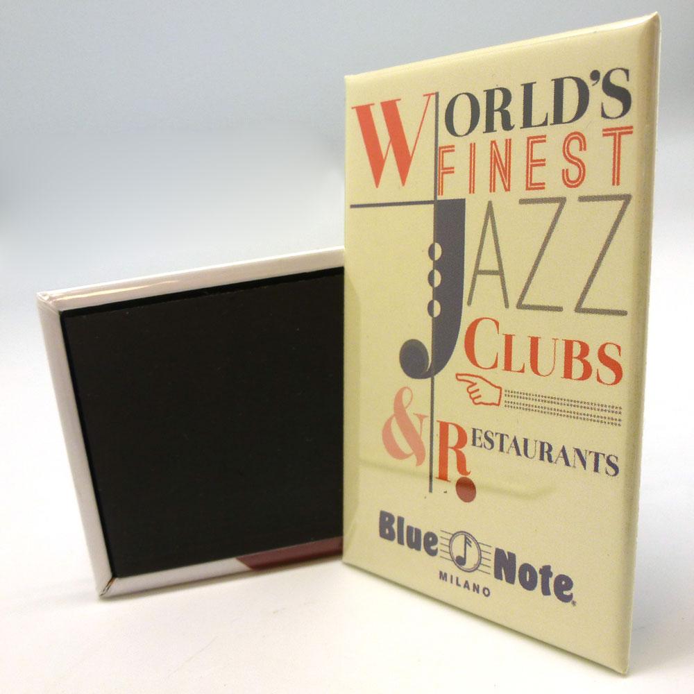"""Blue Note Magnet """"Lettering"""""""