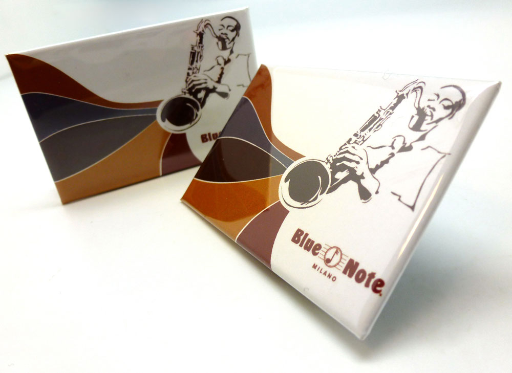 "Blue Note Magnet ""Sax"""