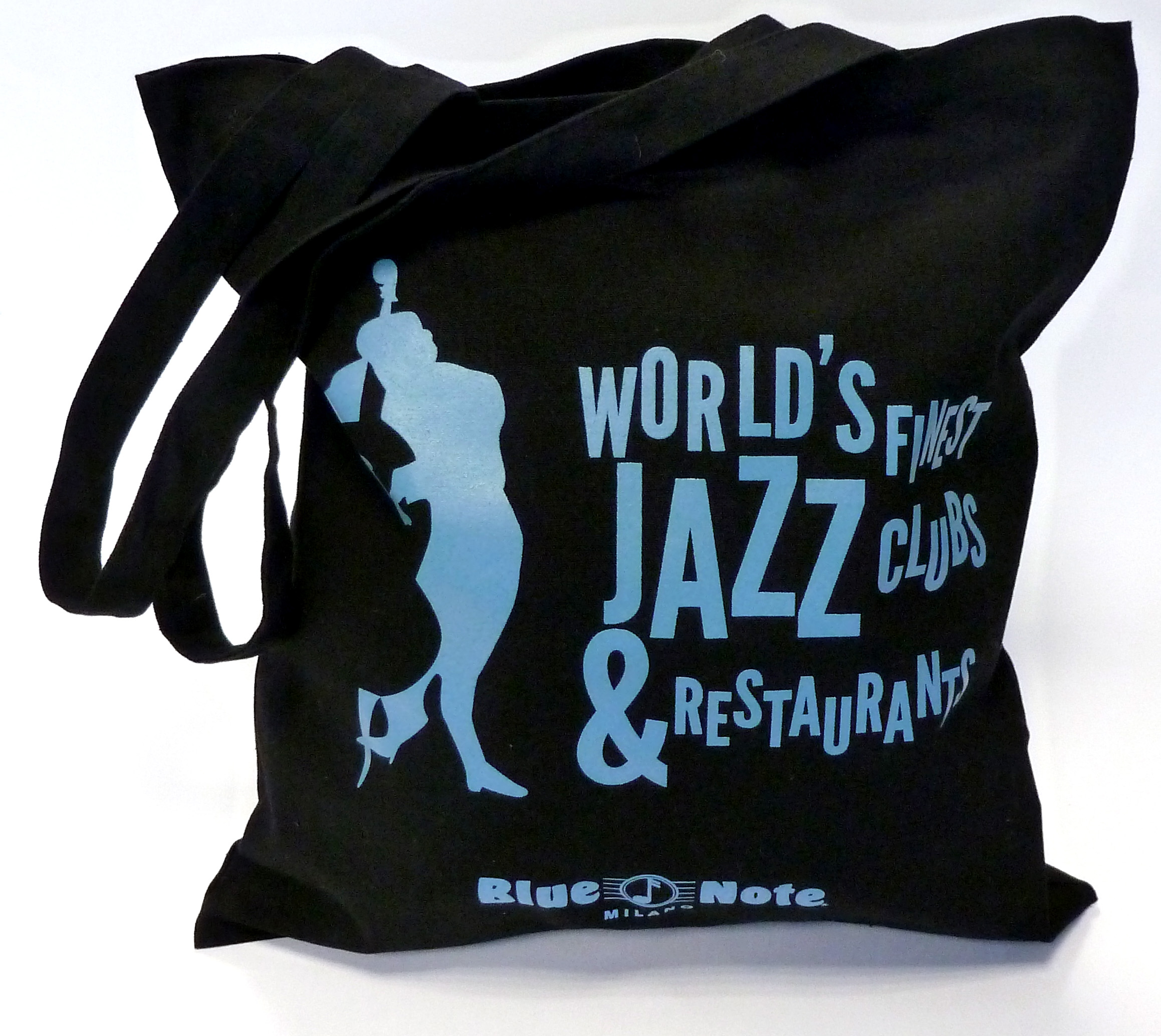 Blue Note Shopper (Black)