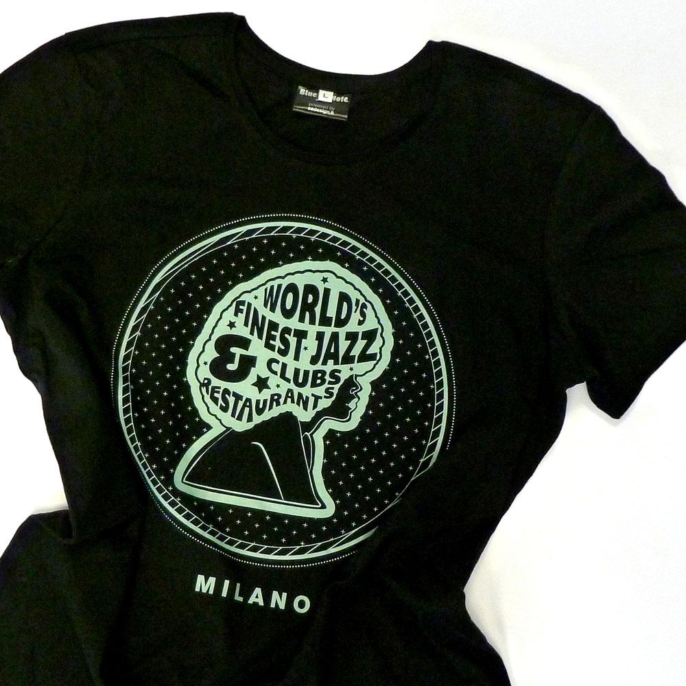 "T-Shirt Woman ""Blue Note Sista"""