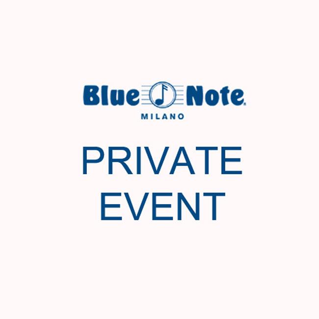 Private Event 20/09/2015 20.00