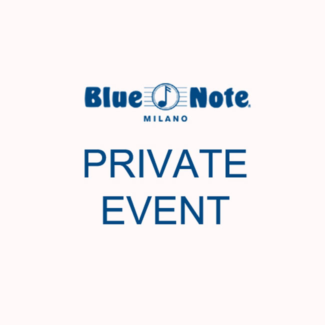 Private Event at Blue Note Milano