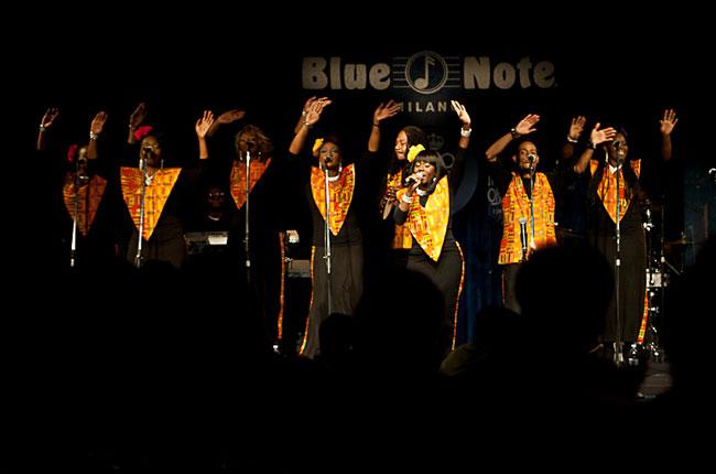 Torna l' Harlem Gospel Choir! Dal 26 al 31 dicembre.
