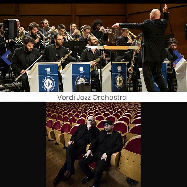 "Verdi Jazz Orchestra – Pino Jodice & Alex Usai ""Big Bandrix"" – A Tribute to Jimi 21/01/2018 21.00"