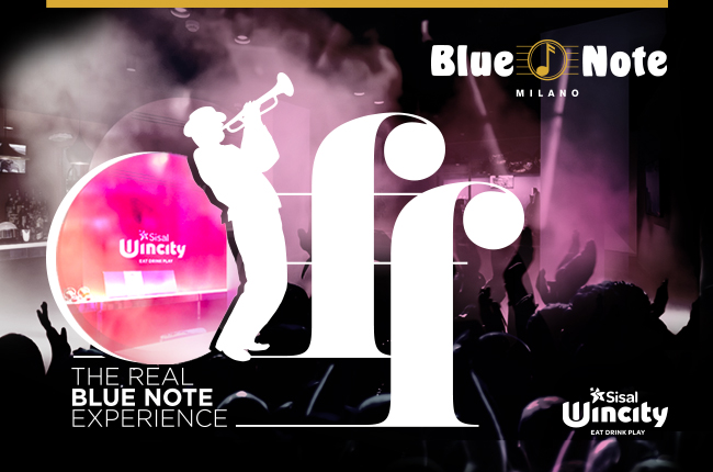 Blue Note Off sbarca a Sisal Wincity!