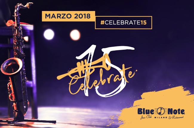 15 anni di Blue Note Milano!