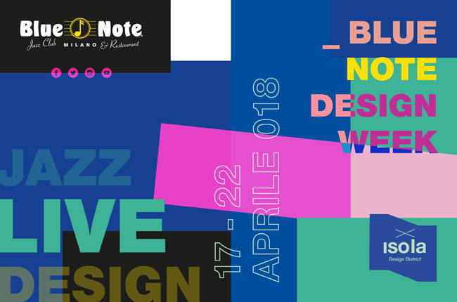 Milano Design Week al Blue Note Milano!