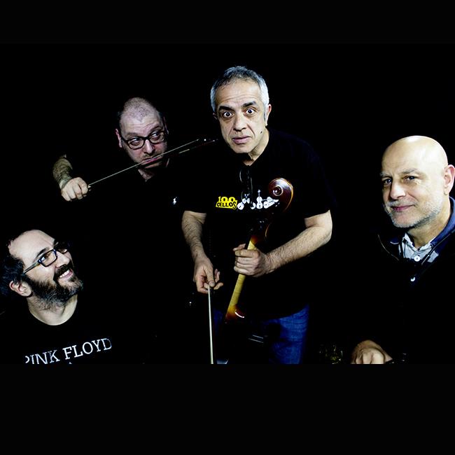 Brick On Cellos -Giovanni Sollima, Pietro Tonolo, Pancho Ragonese e Giovanni Giorgi 25/03/2020 21.00