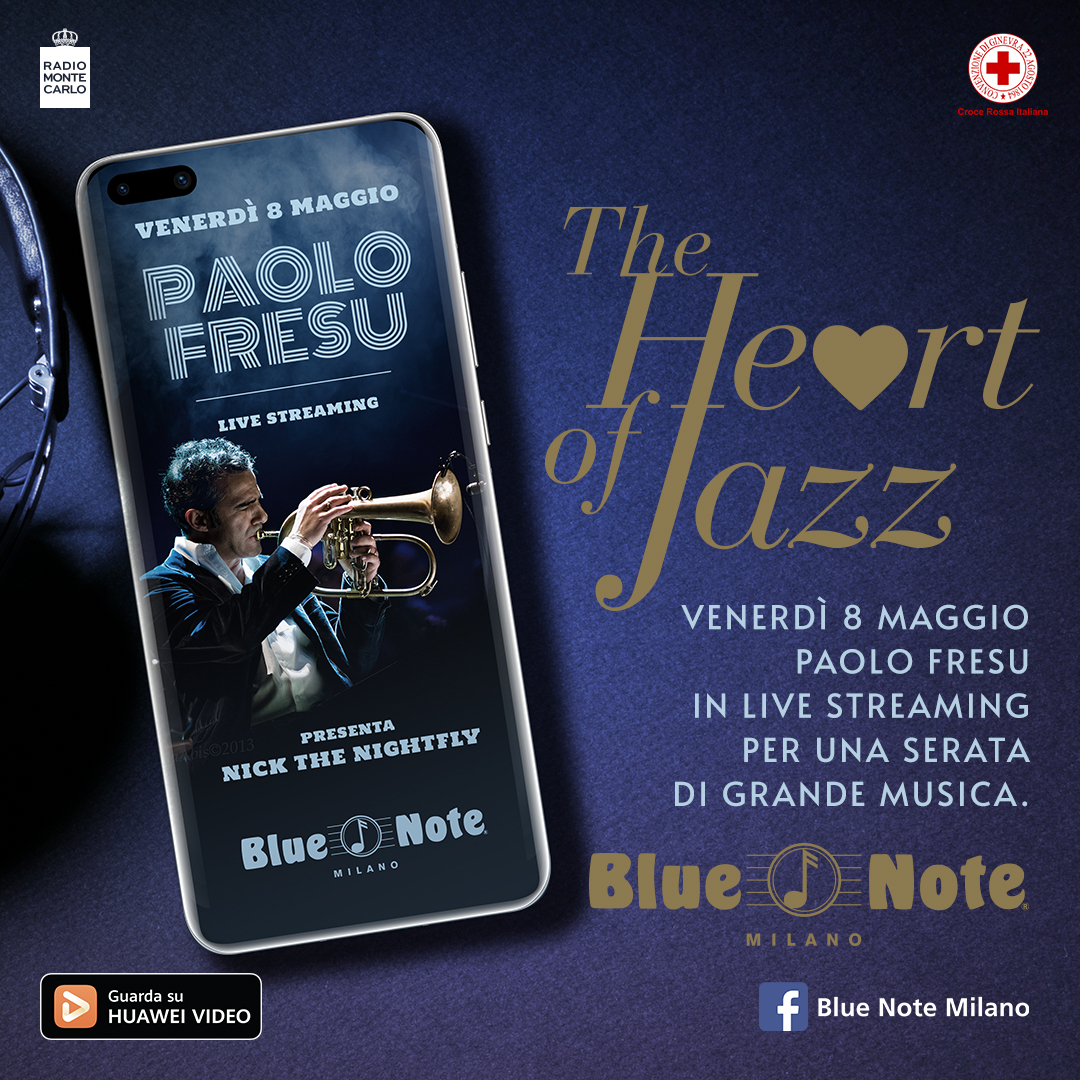 The Heart of Jazz – Paolo Fresu Devil Quartet – Live Streaming 08/05/2020 19.00