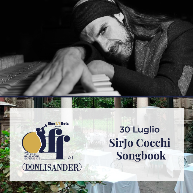SIRJO COCCHI SONGBOOK – Blue Note Off at Don Lisander 30/07/2020 19.00