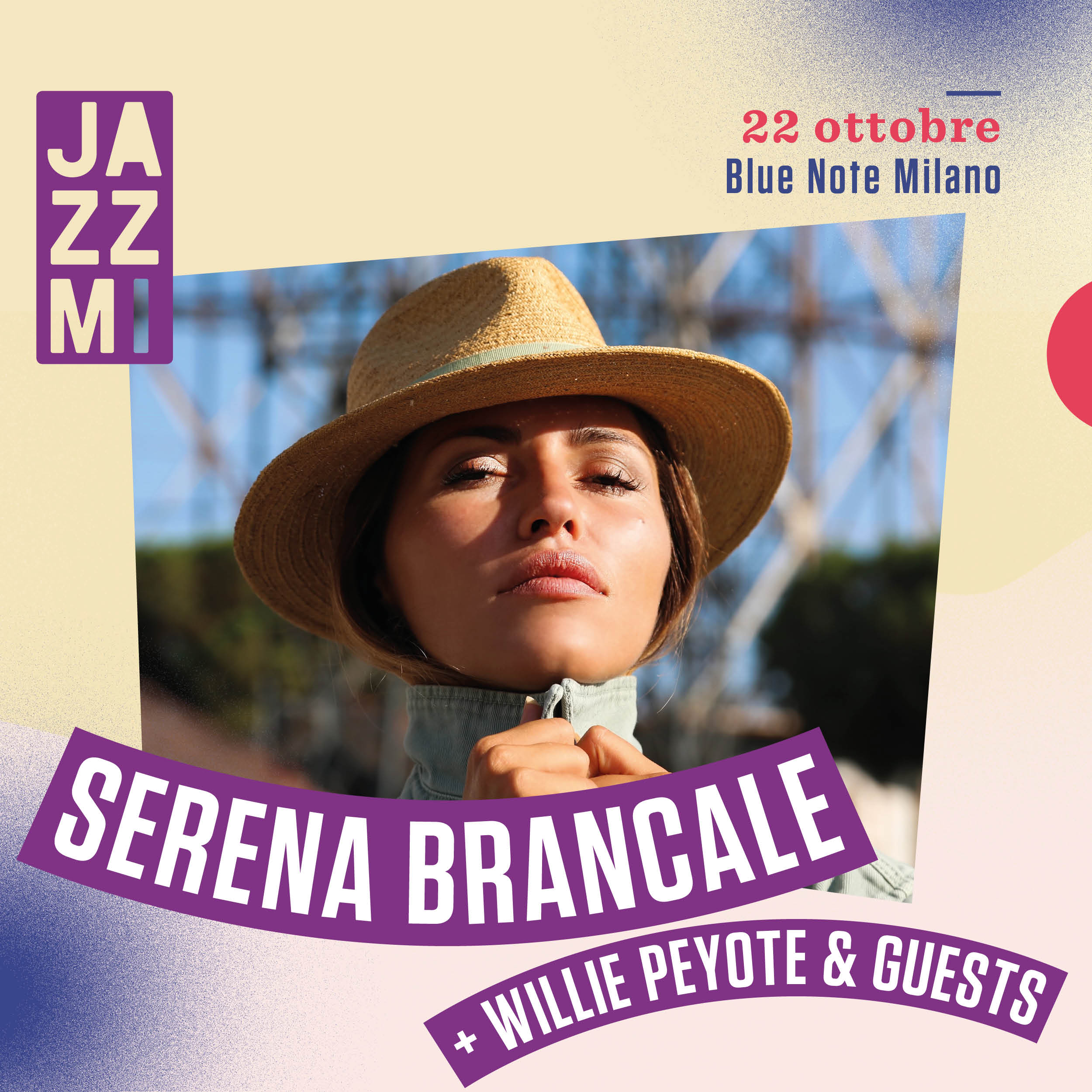 JAZZMI Serena Brancale feat. Willie Peyote & Guests 22/10/2020 18.00