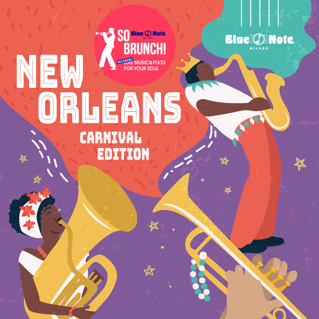 So Brunch! New Orleans Carnival Edition 21/02/2021 12.00