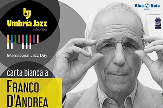 International Jazz Day 2021 – Carta Bianca a Franco D'Andrea