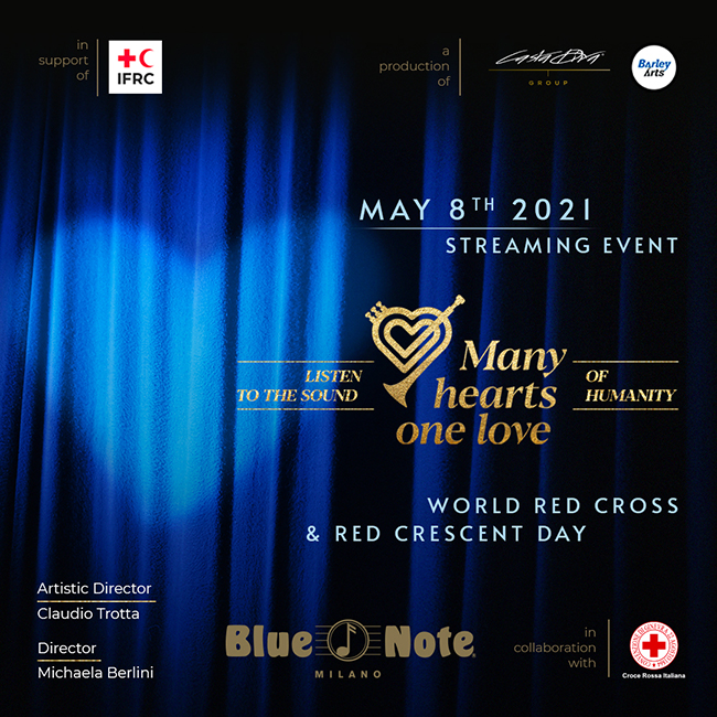 Many Hearts One Love – EVENTO ONLINE 08/05/2021 19.00