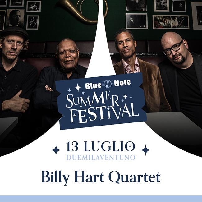 BLUE NOTE SUMMER FESTIVAL: Billy Hart Quartet feat. Mark Turner, Ethan Iverson, Joe Sanders 13/07/2021 20.00