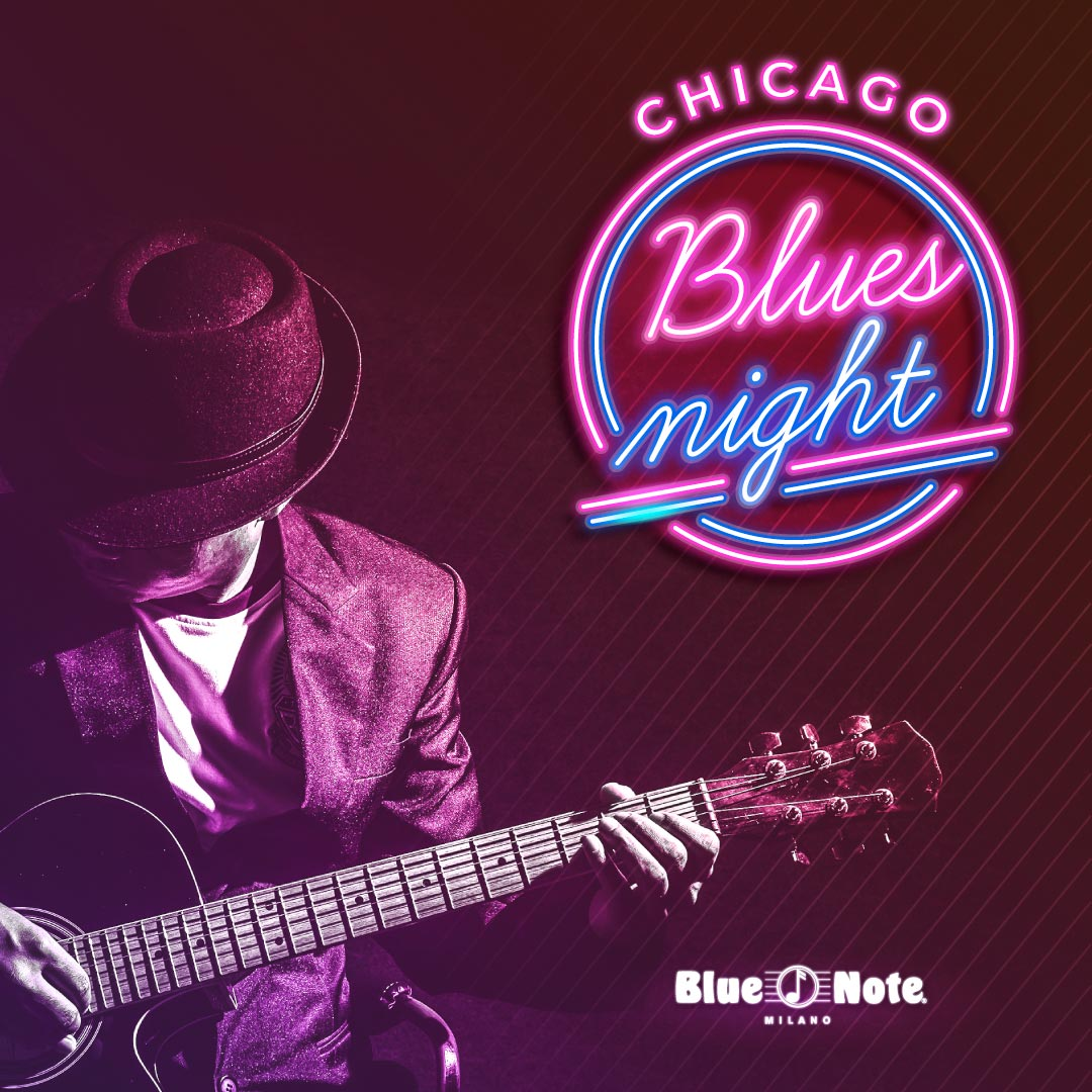 Chicago Blues Night 25/06/2021 20.00