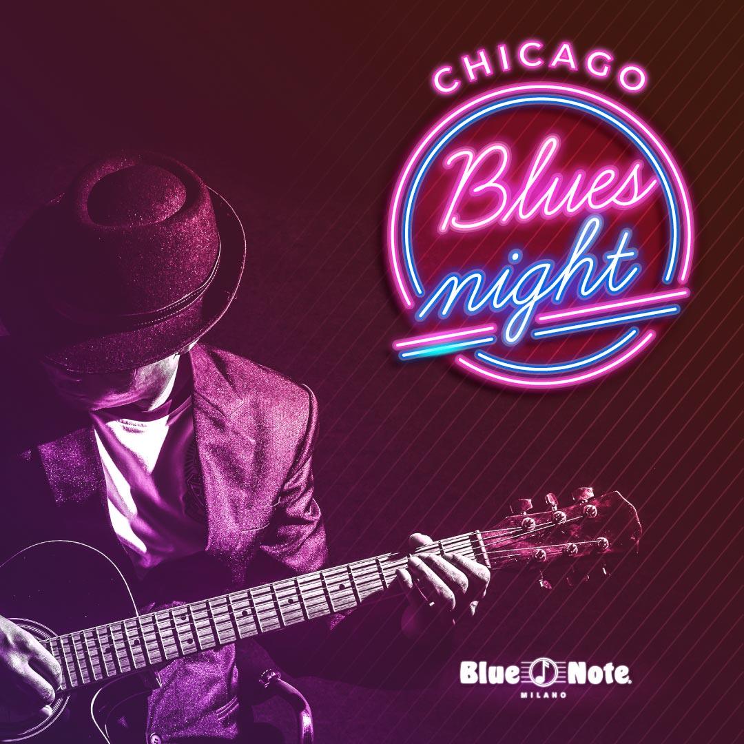Chicago Blues Night 22/09/2021 22.30