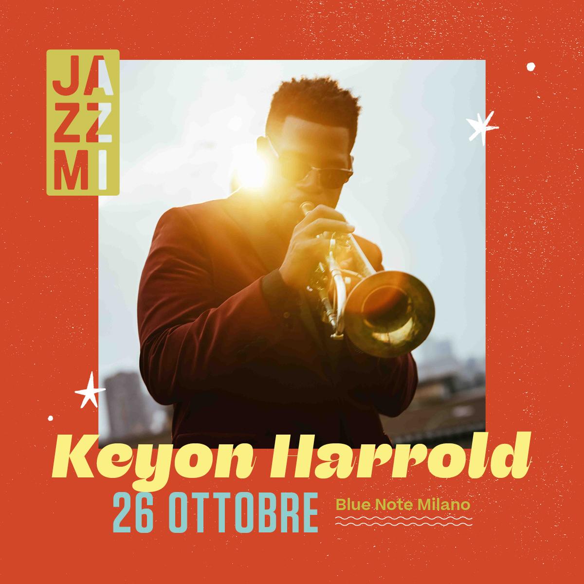 JAZZMI Keyon Harrold Quartet 26/10/2021 20.30