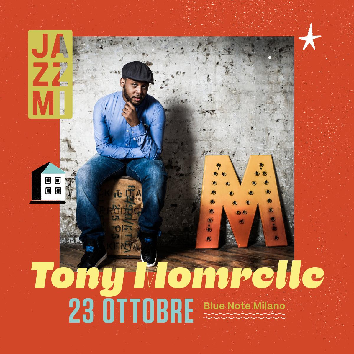 JAZZMI Tony Momrelle 23/10/2021 20.30